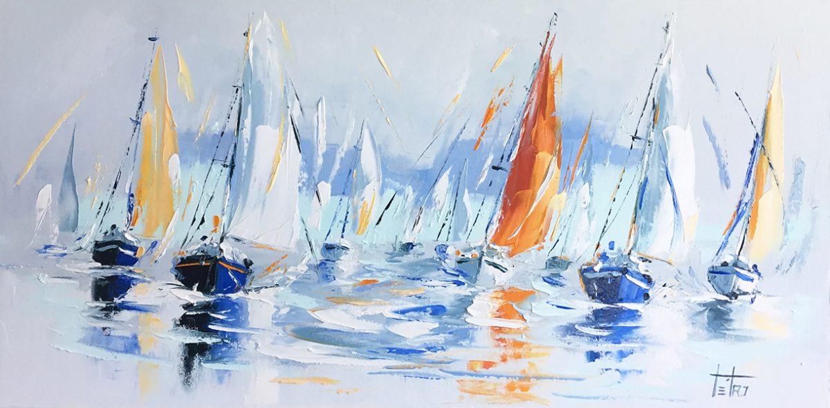 Paradis sur mer - 18x36 - Manon Tétreault