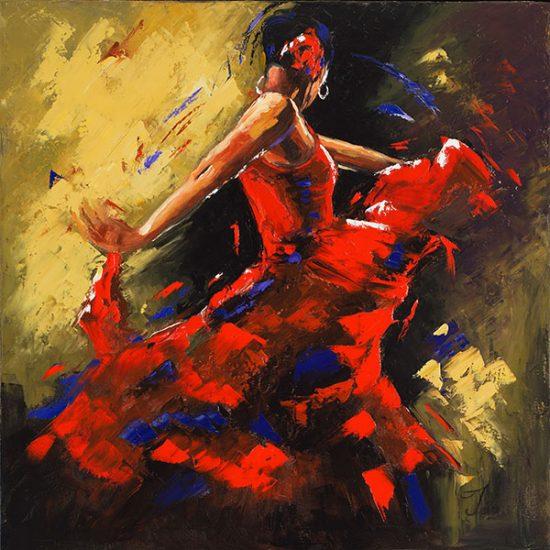 Le rythme dans le coeur - Manon Tétreault artiste peintre