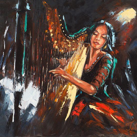 Saveur mélodieuse - Manon Tétreault artiste peintre