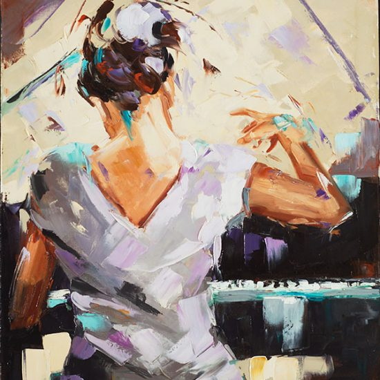 Transcendance - Manon Tétreault artiste peintre