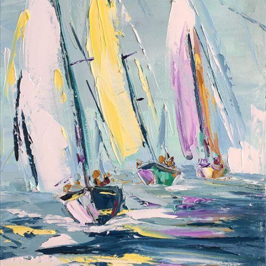 """Douce lumière 16"""" x 20"""" - Manon Tétreault artiste peintre"""