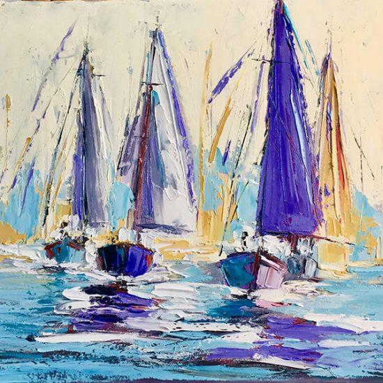 "Flegmatique - 16"" x 20"" - Manon Tétreault artiste peintre"