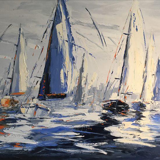 Au gré du vent - 36x48 - Manon Tétreault artiste peintre