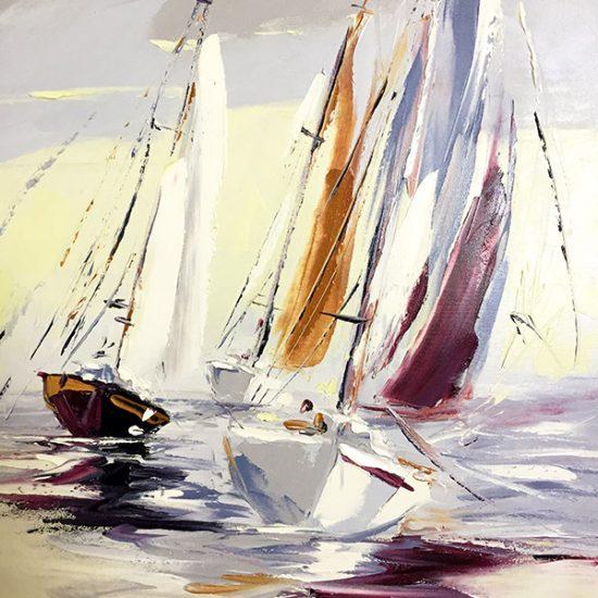 Le temps de vivre - 24x20 - Manon Tétreault artiste peintre