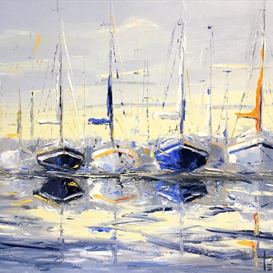 Quiétude du midi - 20 x 30 - Manon Tétreault artiste peintre
