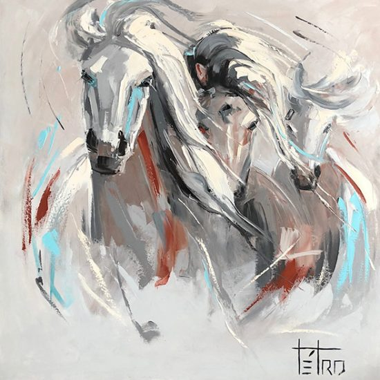 L'unité dans l'adversité - 40 x 30 - Manon Tétreault artiste peintre