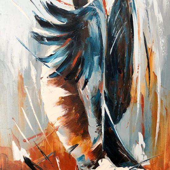 Le réveil - 36 x 24 - Manon Tétreault artiste peintre